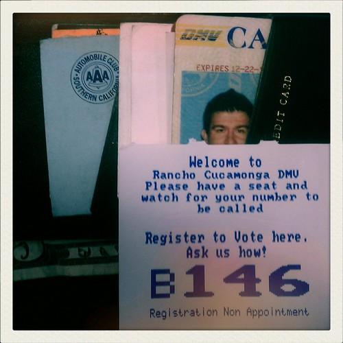California drivers License Check status