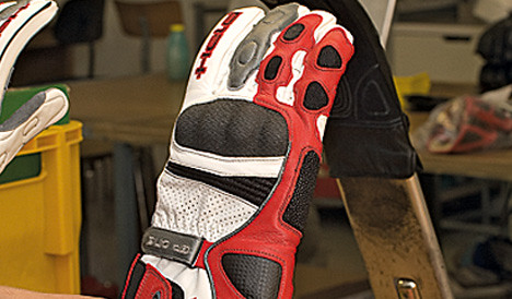 The best motorcycle gloves made by Held