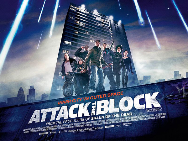 Attack the Block theatrical poster