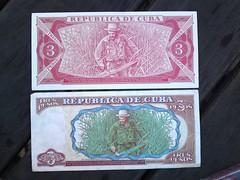 tres che pesos reverso (SuperAdaptoid) Tags: pesos dollars republicadecuba