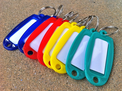 Color Key Fobs