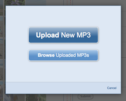 MP3 Player Widget