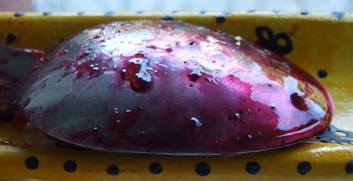 gelatina di more