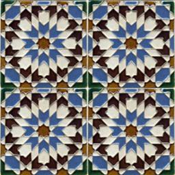 16th Century Tile 04