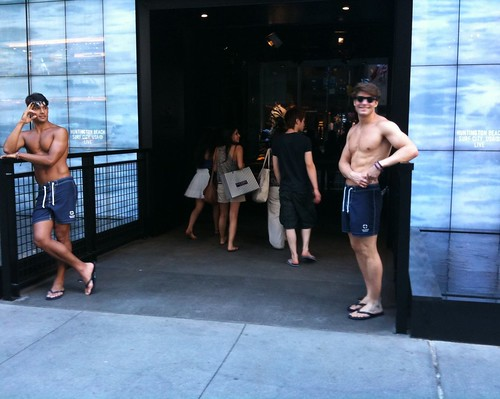 Hollister, on 5th Ave.