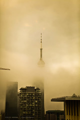 CN Tower Engulfed