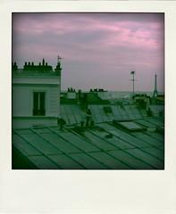 5 (phoebe reid) Tags: paris france rooftops eiffeltower montmartre fakepolaroid poladroid