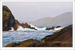Ballinskelligs Bay close to Waterville - II (Maciej - landscape.lu) Tags: seascape rock landscape sony kerry celtic alpha dslr polarizer hitech munster gradual gnd ballinskelligs a900 70200mmf28g singhray goldnbluepolarizer goldnblue kerryco sonydslra900 maciejbmarkiewicz 51483449n10161766w