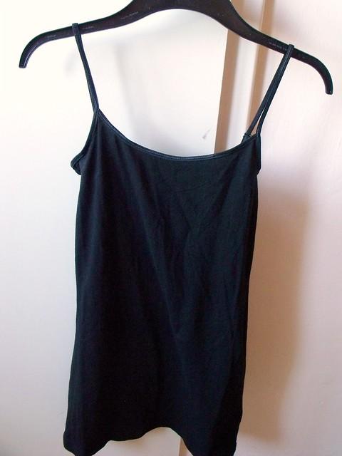 long black tang top H&M
