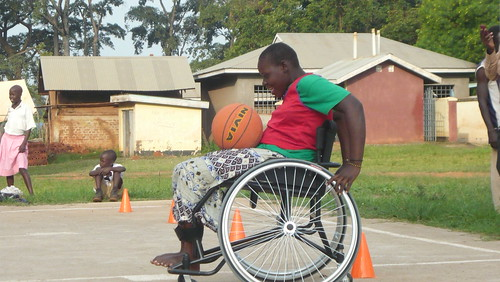 An athlete enjoys basketball practice at GDPU.