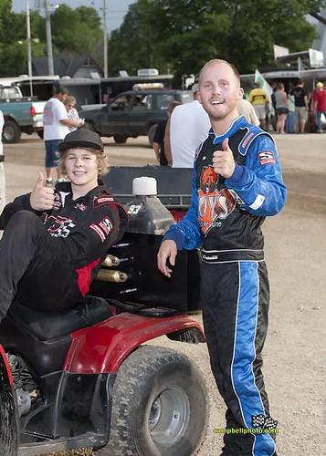Speedweek 2011 Sheldon and Brad