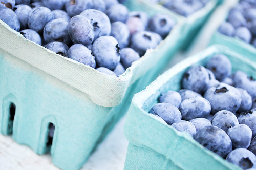 farmer's market blueberries by 68beats