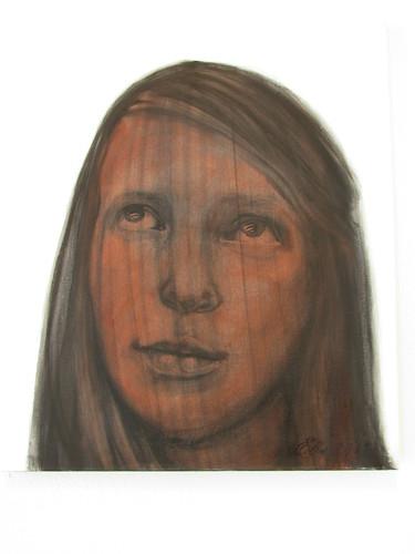 Elis Saareväli: Self portrait