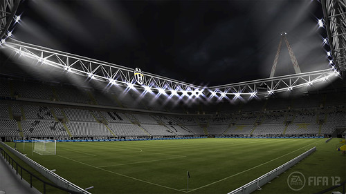 FIFA 12 PS3: Juventus Stadium Night