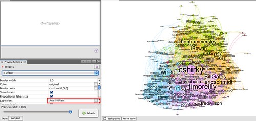 gephi - preview resize