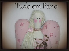 TILDA ANGEL (Tudo em Pano) Tags: angel boneca tilda