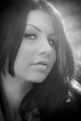 Giada (Monica Sportelli) Tags: portrait bw white black ice eyes piano bn sguardo primo e bianco ritratto nero ghiaccio giada pullfolio