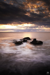 Sunset at the cape (Addi Viggs) Tags: longexposure sunset seascape iceland hnavatnsssla spkonufellshfi 10stopbwndfilter