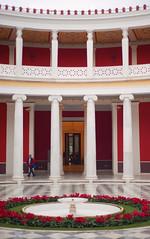 Columns (Diueine) Tags: nikon nikkor d700 50mm f18 greece athens columns iso200 prime europe red ζαππειο μεγαρο αθήνα travel dslr europa 2012 winter diueine diueinemonteiro monteiro reise