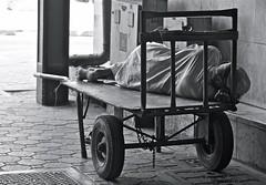 Afternoon Nap (Stephskimo) Tags: blackandwhite dubai united streetphotography emirates arab vendor flickrtravelaward