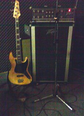 Bass rig (Lotus Born) Tags: electric bass guitar jazz amplifier sx 2x12cab peavymusicianamp
