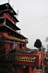 Hotel View Point (Mel@photo break) Tags: travel nepal red house hotel chair balcony room mel melinda accommodation nagarkot  hotelviewpoint chanmelmel melindachan