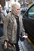 Claire Richards Members of reformed pop group Steps avoid the paparazzi as they leave their Dublin hotel today ahead of their O2 Arena concert this evening Dublin, Ireland