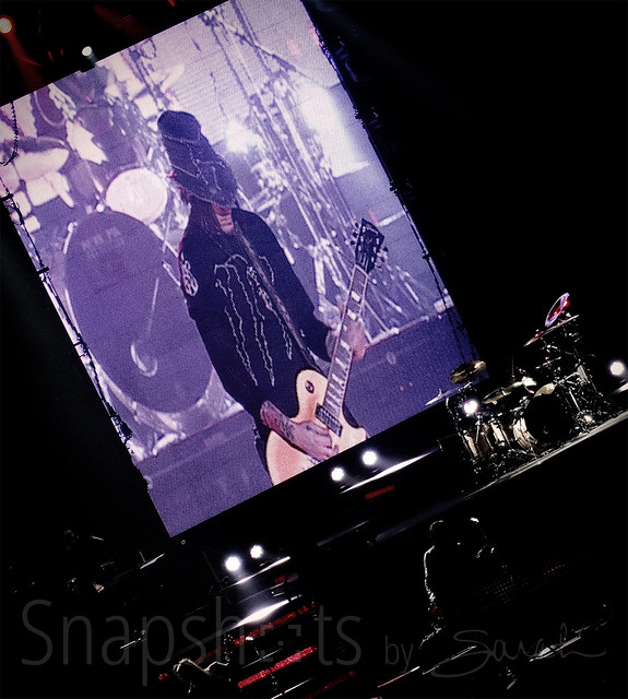 dj ashba with guns n roses in minneapolis