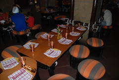Restaurant Table (Let Ideas Compete) Tags: new india restaurant hotel delhi sheraton bukhara indianculture