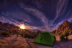Joshua Tree Camping (/\ltus) Tags: camping sunset pentax joshuatree handheld hdr k7 5xp nemotent