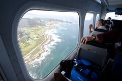 The view from inside the Eureka (egoscribo) Tags: california coast airship dirigible airshipventures
