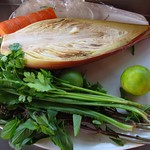 "Banana Flower Salad Ingredients <a style=""margin-left:10px; font-size:0.8em;"" href=""http://www.flickr.com/photos/14315427@N00/7113124095/"" target=""_blank"">@flickr</a>"