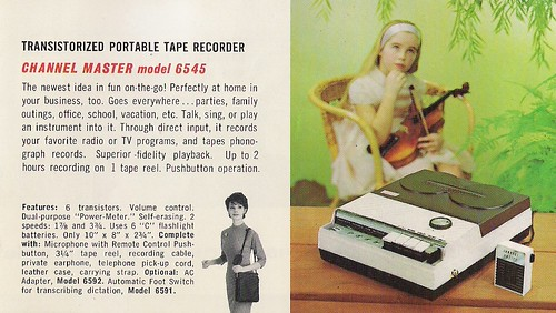 CHANNEL MASTER Radio, Television, Tape Recorder, Walkie Talkie and Interphone Brochure (USA 1961)_14