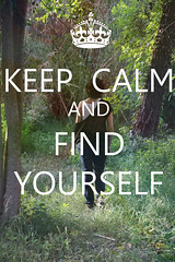 Keep calm and find yourself (Leo Leguizamon) Tags: trees forest canon hojas lost persona la y calm bosque mismo keep ti yourself calma find perdido the in 550d mantienen encuentrate