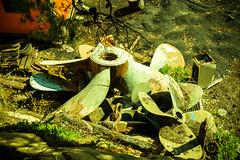 ŠKVER 2013 A surprisingly large propeller...and some smaller ones (ŠKVER ART PROJECT) Tags: art festival project island hall mediterranean experimental culture croatia fringe machinery event propellers shipyard happening adriatic lussino 2013 malilošinj lošinj škver