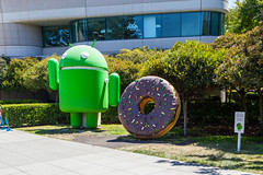 Google Android - Donut (PR Photography) Tags: california usa google northamerica mountainview
