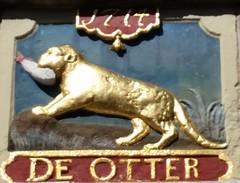 Den Otter (M@rkec) Tags: alkmaar noordholland 0514 2014 gevelsteen deotter 13052014 noordhollandtrip