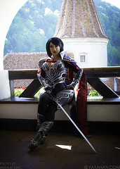 fiora-sitting-web (brianboling) Tags: game costume riot cosplay lol videogame yaya han yayahan fiora nightraven leagueoflegends yayacosplay riotgames