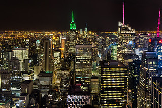 New York Night Skyline ll