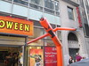 Inflatable Tube Man Spirit Halloween 2016 Store NYC 5828 (Brechtbug) Tags: orange wacky waving inflatable arm flailing tube man sky dancer spirit halloween 2016 store 48th street near 6th ave nyc costume mask stores upper west side manhattan new york city ben cooper halco collegeville logos costumes masks holidays holiday warning villain 60 60s 1960s animated cartoon animation cartoons vintage 50s 70s 80s st 09252016 september poster ad advertisement ads