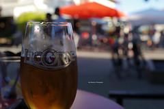 Licorne Beer at Bar du Centre (Iker Merodio | Photography) Tags: bar du centre beer licorne cup instafood terrace terraza garagardo pentax k50 sigma 30mm art vieux boucau les bains aquitaine akitania landes landak
