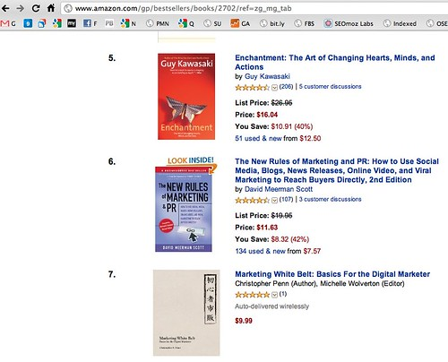 Amazon.com Bestsellers: The most popular items in Marketing