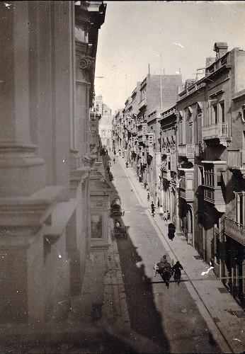 Victory Street, Senglea, Malta. 1930s.