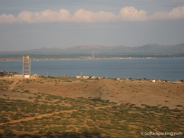 View of Cabo de la Vela