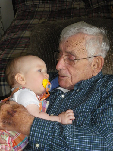 Sammy and his Great-Grandpa
