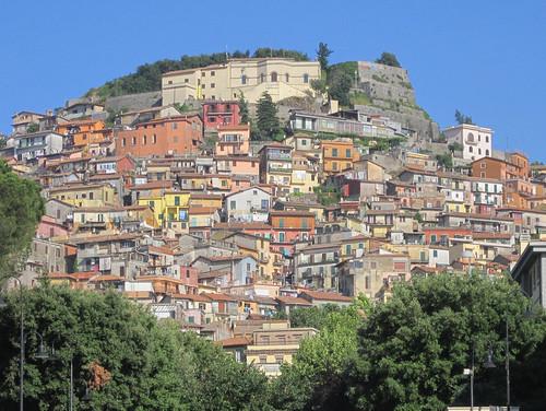 Rocca di Papa, sui Colli Albani (Rm)