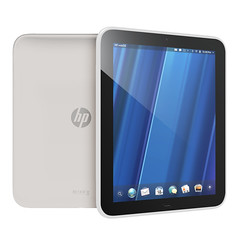 White HP TouchPad Tablet