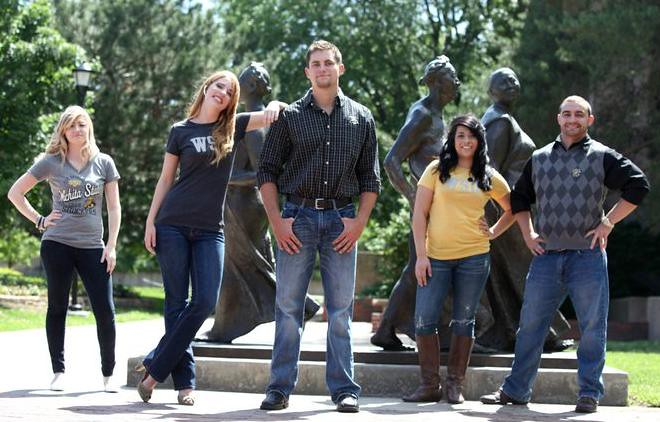 MBS Foreword Online - Wichita State University Bookstore Top Model Fashion Shoot