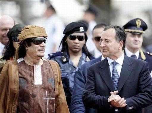 bodyguard Khadafi