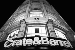 Crate & Barrel (Thomas Hawk) Tags: sanfrancisco california bw usa unitedstates unitedstatesofamerica unionsquare cratebarrel crateandbarrel